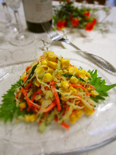 Coleslaw: Sesame and Mustard Flavour