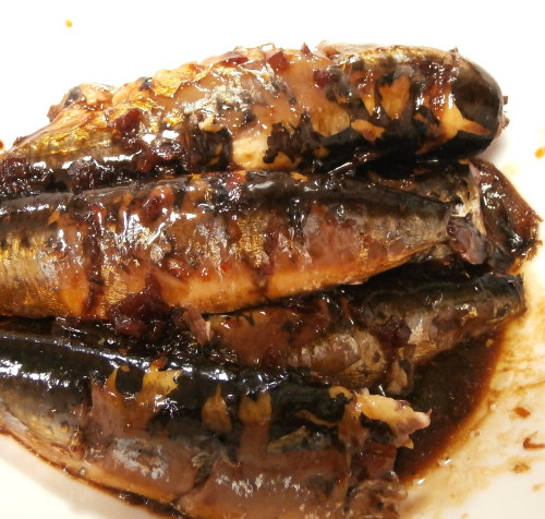 Good To The Bone! Sardines with Ginger in a Pressure Cooker