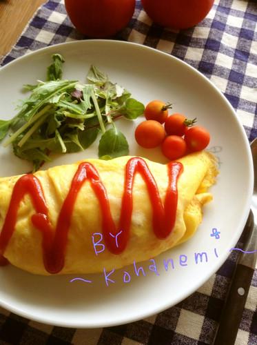 Soft Egg Omurice