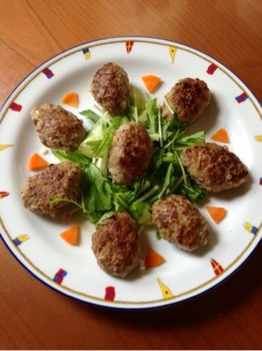 Turkish Kofta Meat Patties
