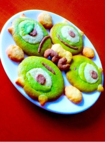 Monsters, Inc. Mike's Matcha Cookies