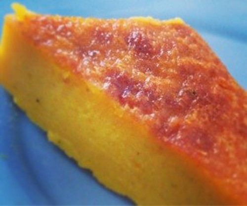Great for Halloween! The Best Kabocha Squash Cake
