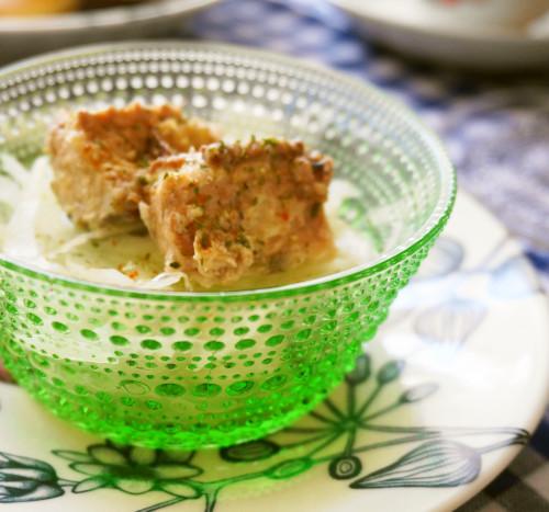 Canned Boiled Mackerel & Sweet Onion Salad