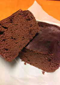 Low-Sugar Moist Okara Cocoa Cake