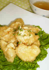 Tender Chicken Breast in Soy Sauce and Mayonnaise