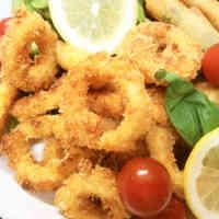 Splatter-free Fried Calamari
