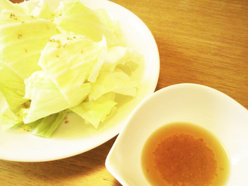 [Easy] Delicious Izakaya-Style Salted Cabbage Leaves