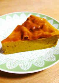 Healthy With Tofu! Easy Kabocha Squash Pudding Cake