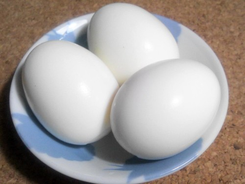 Energy-saving and Easy Boiled Eggs