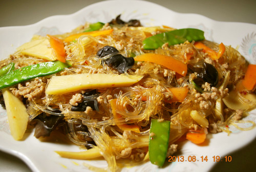 Easy 10 Minute: Mapo Harusame Noodles