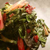 Sautéed Chard with Walnuts & Dried Fruit
