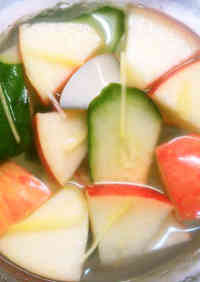 Pear and Apple Mul (Water) Kimchi