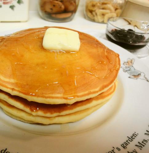 Pancakes with Yoghurt