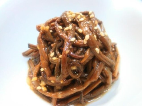 Royal Fern Namul with a Secret Sauce