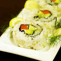 Salmon & Dill California Roll