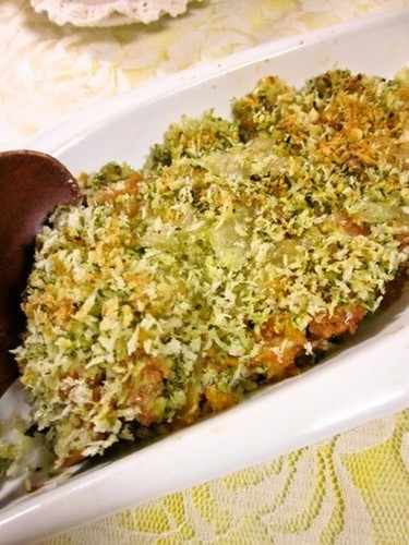 Panko with Genovese Sauce