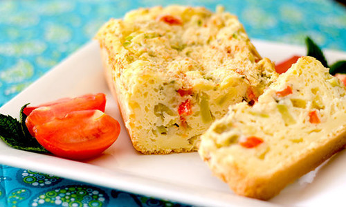 Gluten-Free Vegetarian Cake Salé
