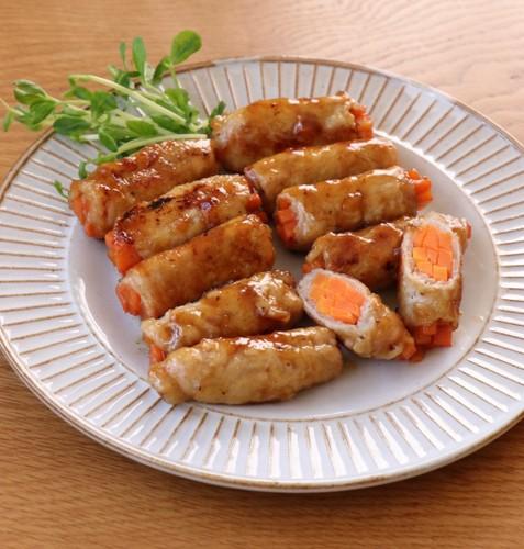 Carrot Pork Rolls