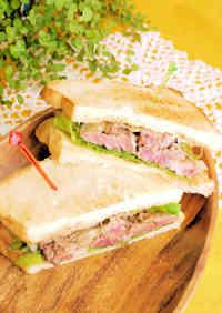 Satisfying Beef Steak Sandwich