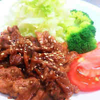 Korean-style Yaki-niku BBQ with My Secret Sauce (ver. 1)