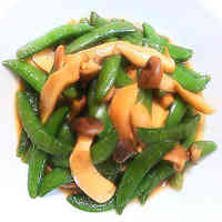 Stir-Fried Sugar Snap Peas With My Secret Sauce