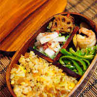 Narazuke Fried Rice Bento