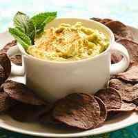 Basil Flavored Hummus