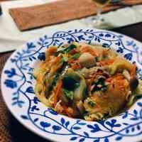 Crispy Yakisoba Noodles with Thick Ankake Sauce