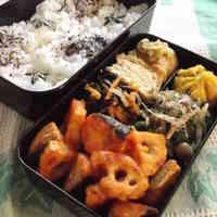 Niigata-Style Bento - Lotus Root and Salmon with Kanzuri Ketchup
