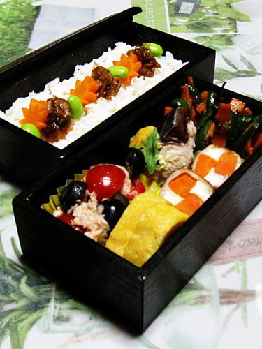 The Flavors of the Seto Inland Sea - Mackerel with Miso-Mayo in a Bento Box