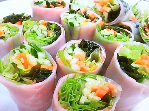 Spring Rolls Made with Everyday Ingredients