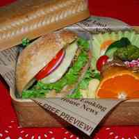 Sasebo Burger Bento Box