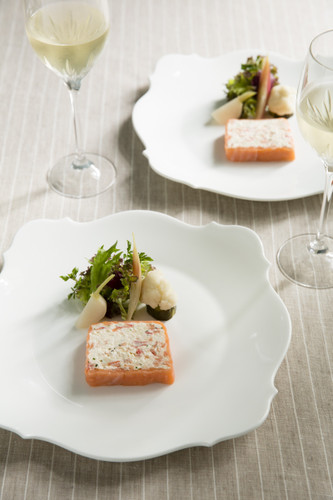 Easy Smoked Salmon and Crab Terrine