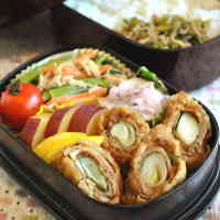 Edo-Tokyo Style Sweet Miso and Leek Pork Cutlet Bento