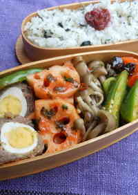 Round and Cute Hatcho Miso Quail Egg Meatballs For Bento