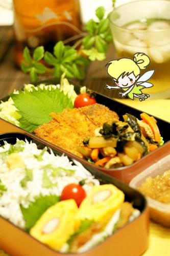 Delicious Kanagawa Cuisine: Misaki Harbor Marinated Tuna Katsu Bento