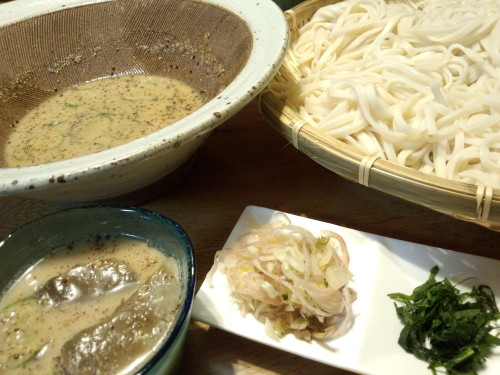 10-Year Udon in Chilled Egoma Seed Sauce