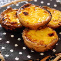 Macau-Inspired Egg Tarts