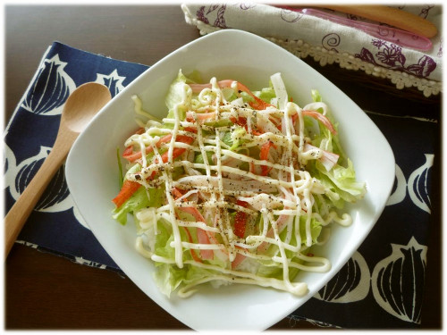 Crab Stick & Mayo Rice Bowl