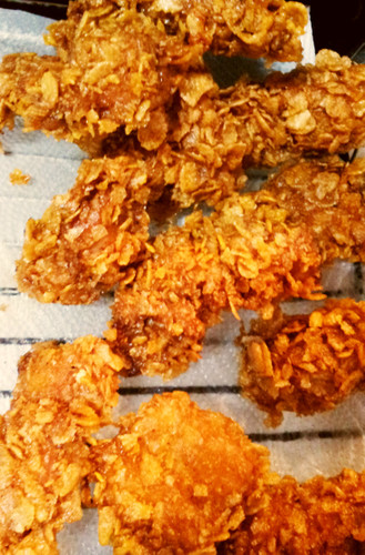 Crispy Garlic Chicken Breast