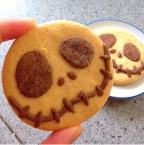 Jack Cookies for Halloween
