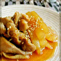 Chinese-Style Chicken and Daikon Radish