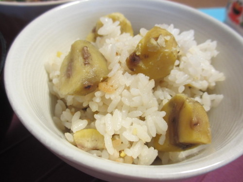 Easy! Chestnut Rice
