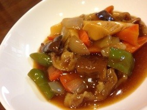 Tender Authentic Sweet and Sour Pork at Home