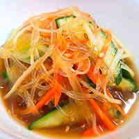 Chinese-Flavored Ginger and Cellophane Noodles