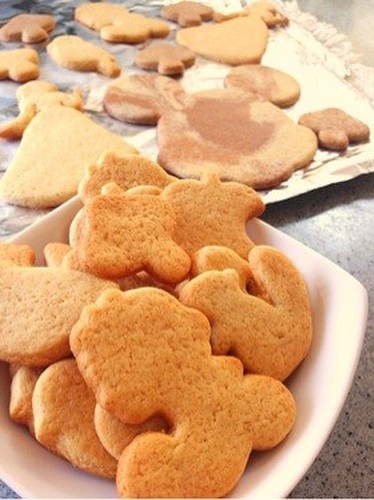 Easy and Tasty Cookie Cutter Cookies Made with Pancake Mix