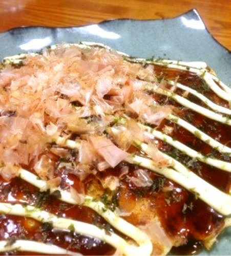 My Original Pan-Fried Okonomiyaki