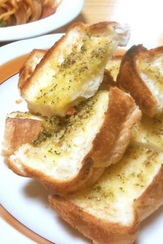 Very Easy Garlic Toast