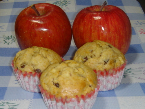 Quick & Easy Apple Muffins