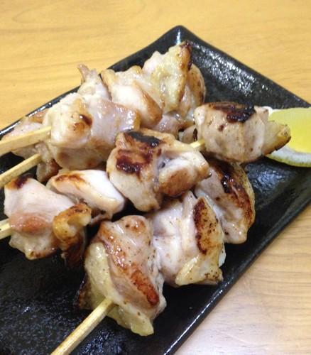 Salted Grilled Chicken Yakitori